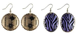 Animal - Copper Earrings
