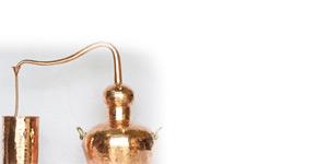 Copper Distilling Pots