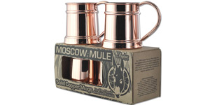 4 Pack of Copper Mugs