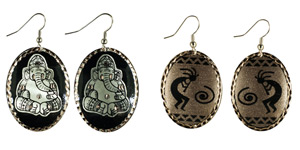 Spiritual - Copper Earrings