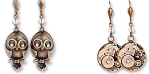 Steampunk Universe Earrings