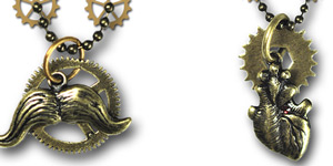 Steampunk Limited Edition Necklaces